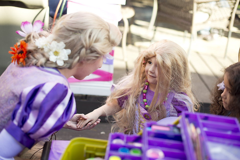 Rapunzel Tangled Birthday Party Theme