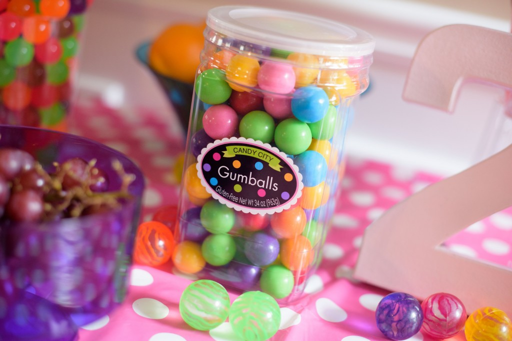 Girl Bouncy Ball Theme Birthday Party